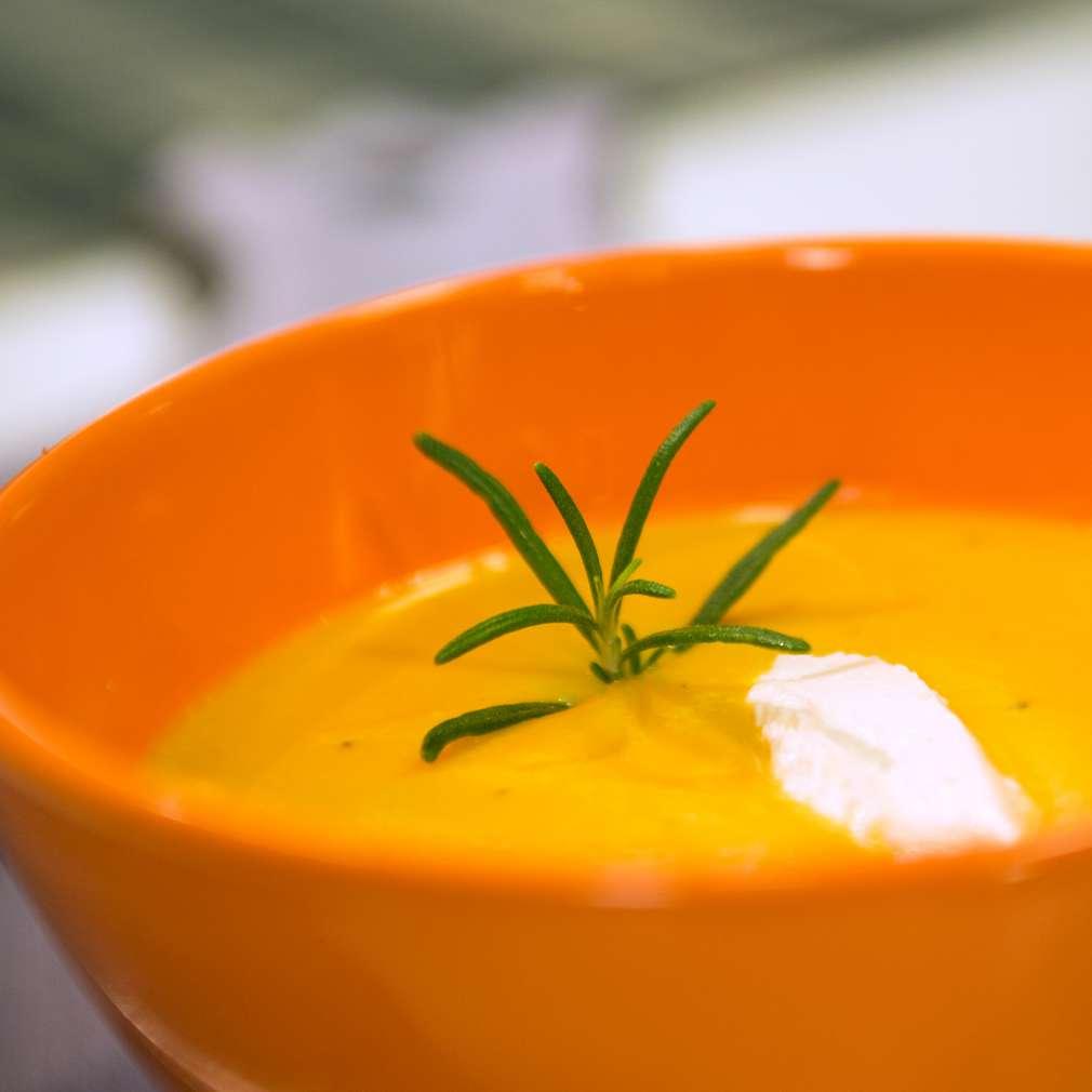 Изобразяване на рецептата Супа от печена тиква