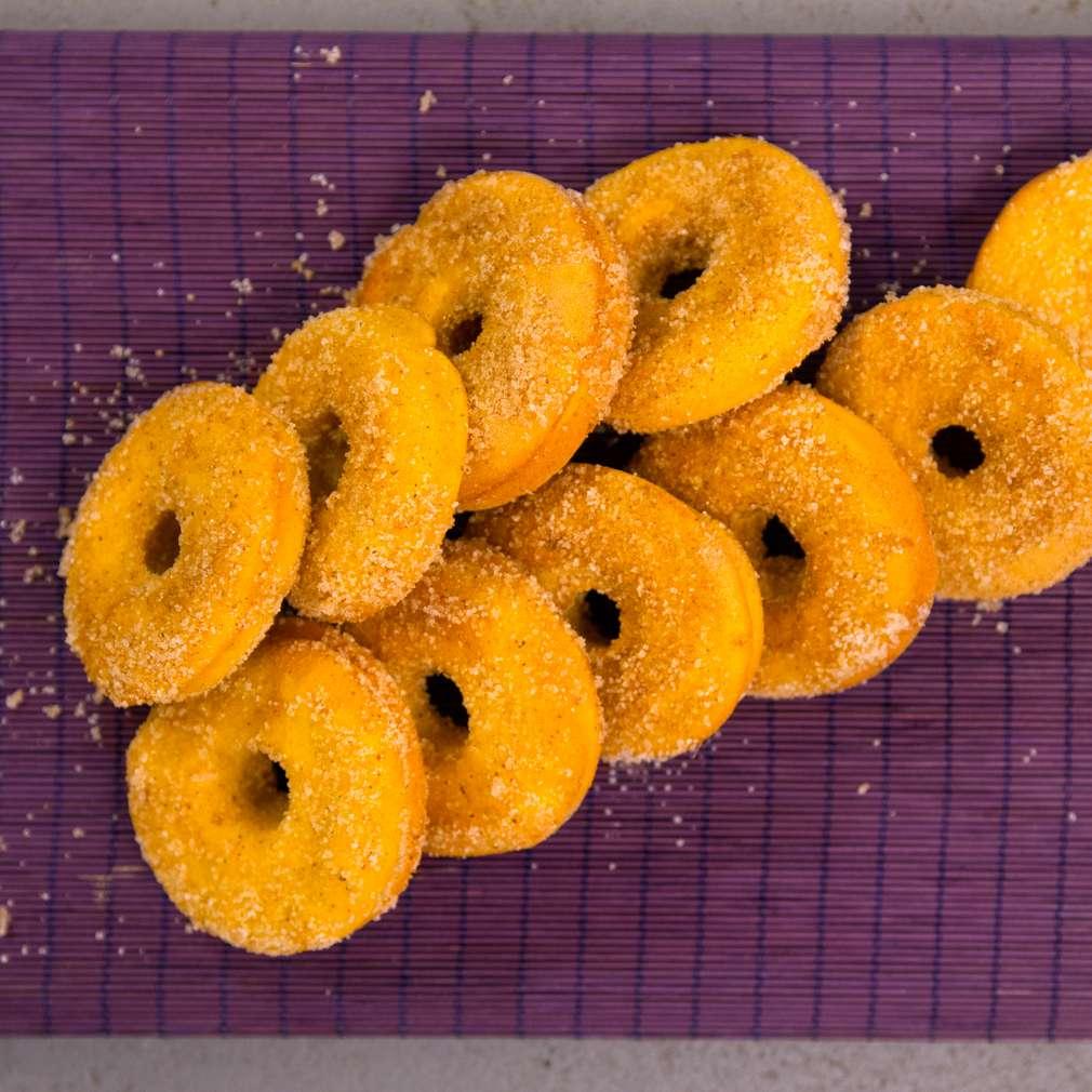 Изобразяване на рецептата Печени тиквени понички