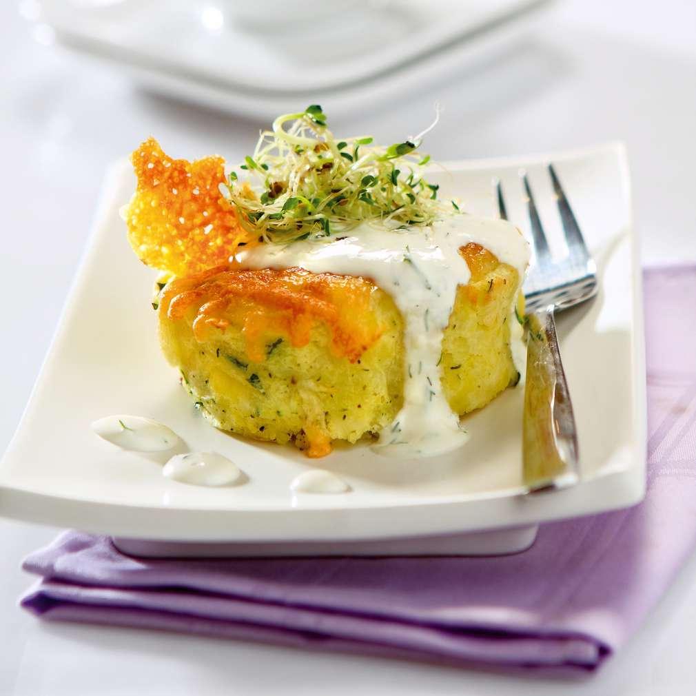 Изобразяване на рецептата Картофи с кашкавал и млечен сос