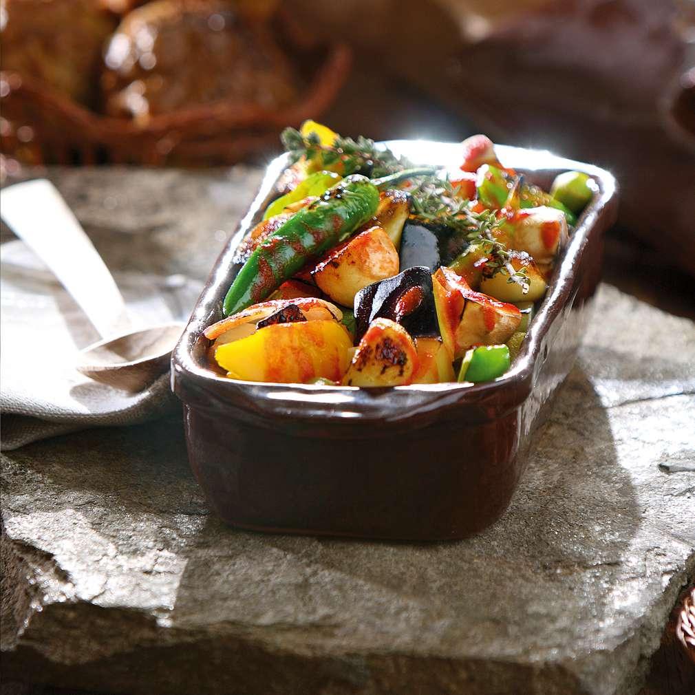 Изобразяване на рецептата Гювеч от зеленчуци