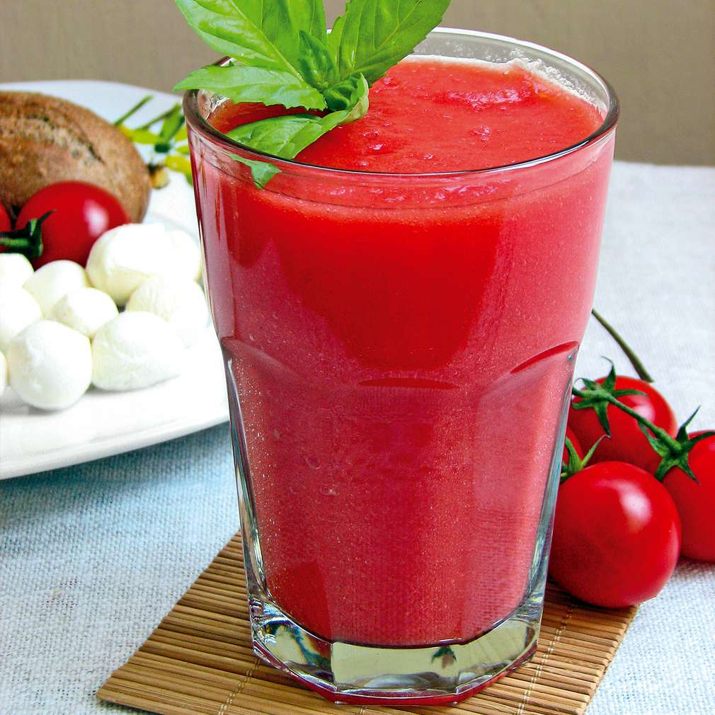 Изобразяване на рецептата Зеленчуков коктейл