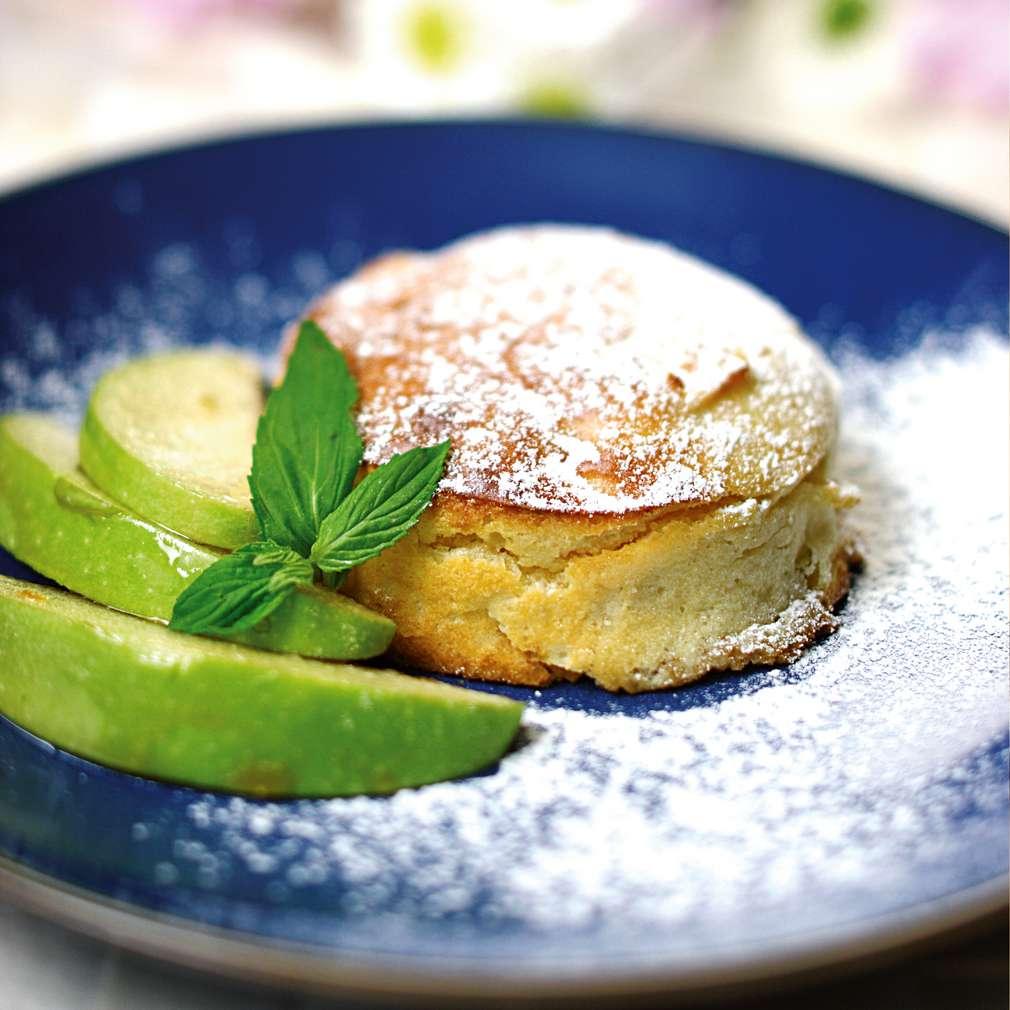 Изобразяване на рецептата Плодов кейк с извара