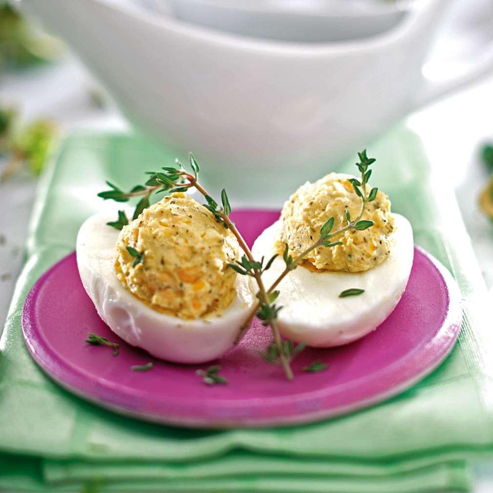 Изобразяване на рецептата Яйчен пастет