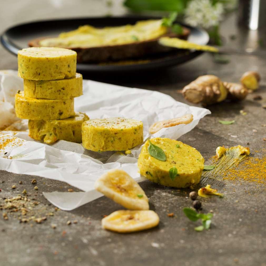 Abbildung des Rezepts Curry-Ingwer-Butter
