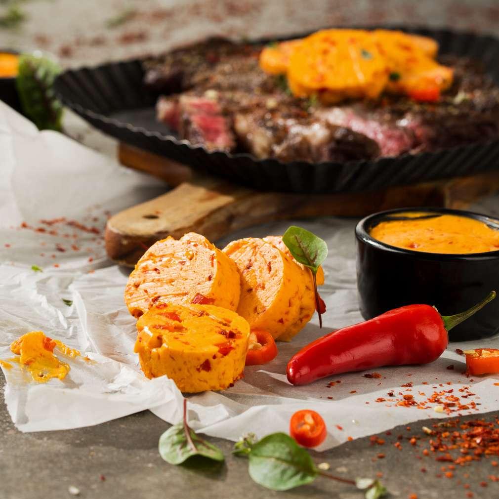 Abbildung des Rezepts Paprika-Chili-Butter