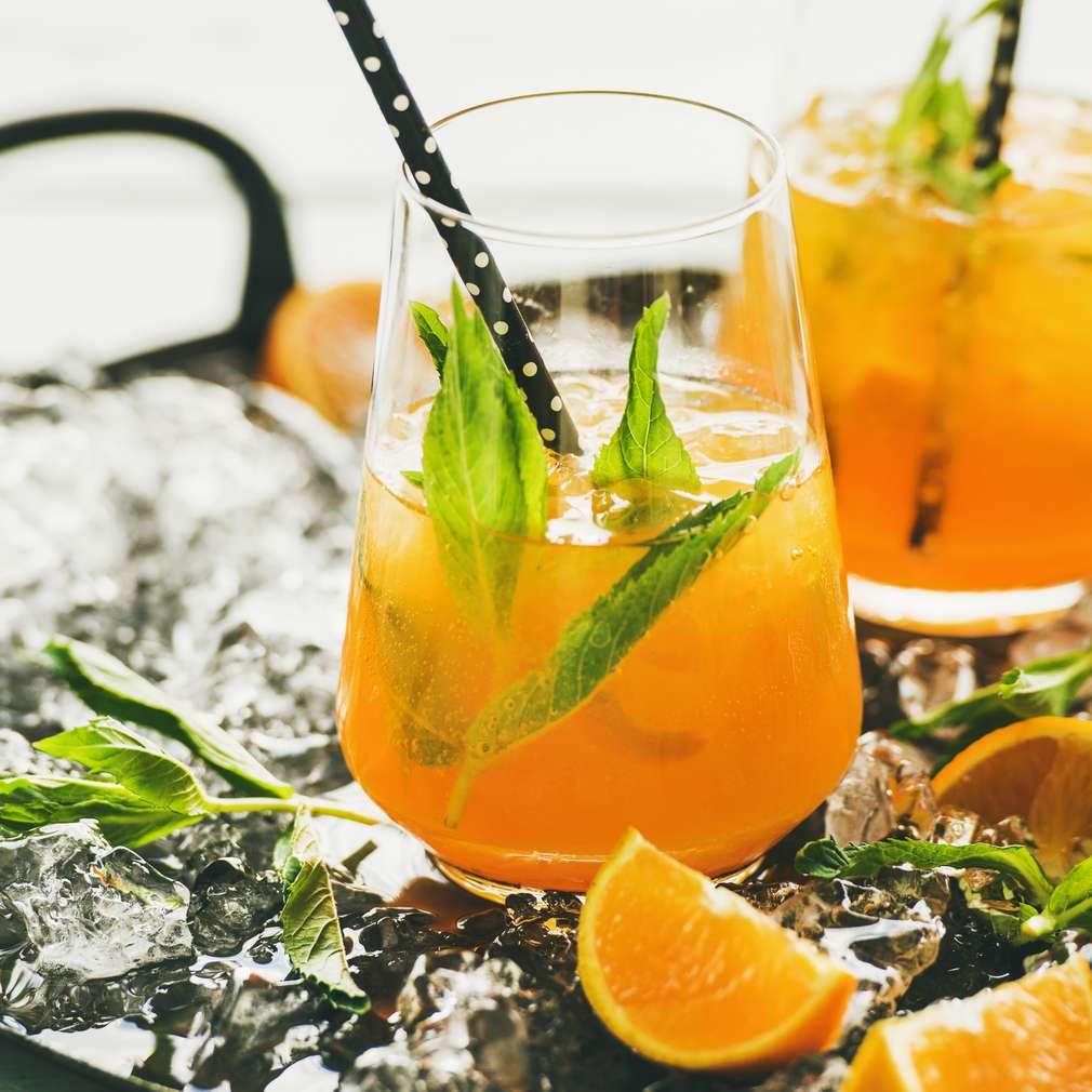 Abbildung des Rezepts Ginger Fizz Orange