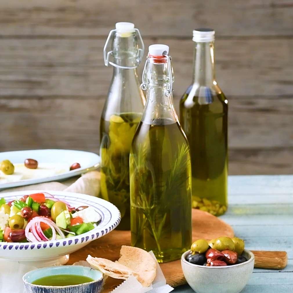 Zobrazenie receptu Ochutené olivové oleje