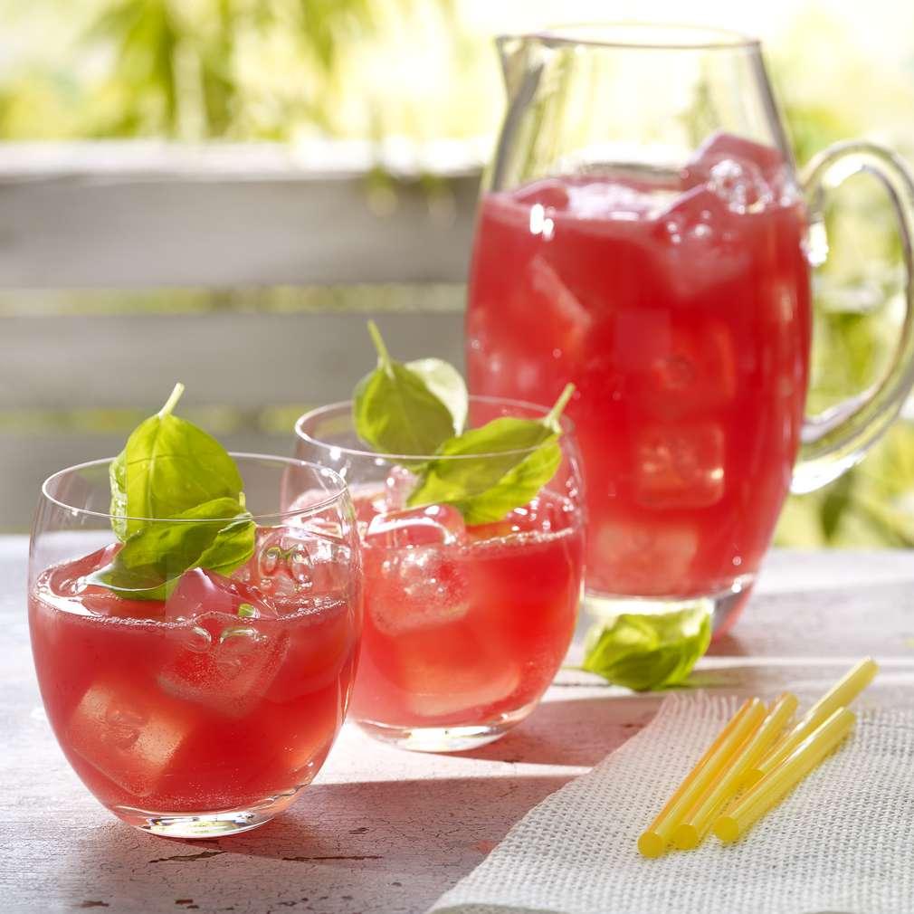 Zdjęcie przepisu Lemoniada z arbuzem