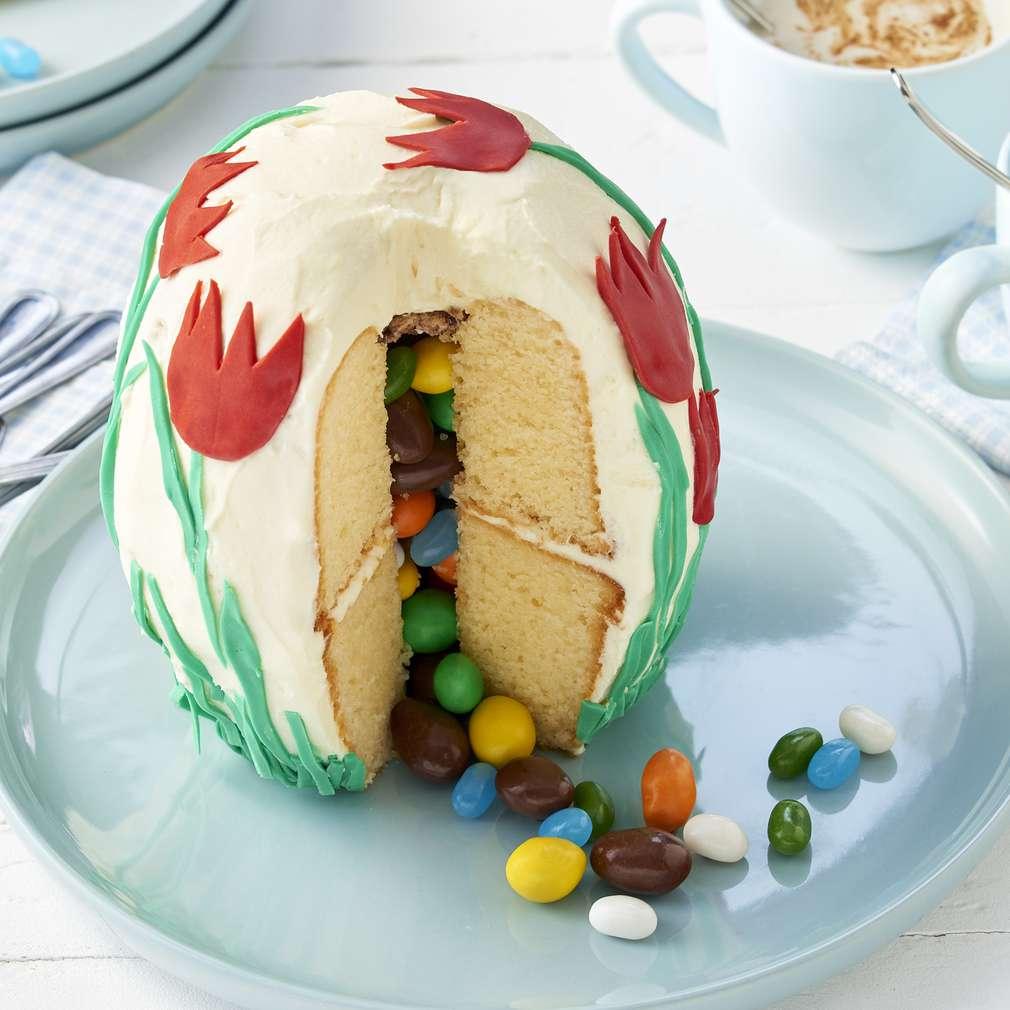 Abbildung des Rezepts Osterei-Überraschungs-Kuchen