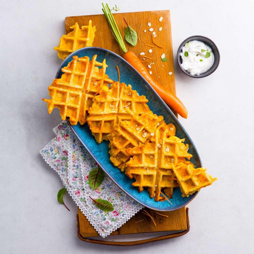 Abbildung des Rezepts Karottenwaffeln