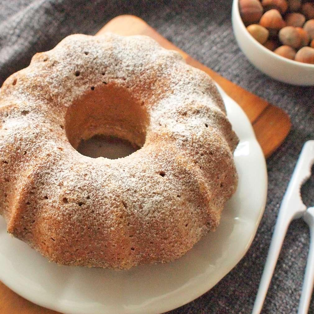 Zobrazit Ořechová celozrnná bábovka receptů
