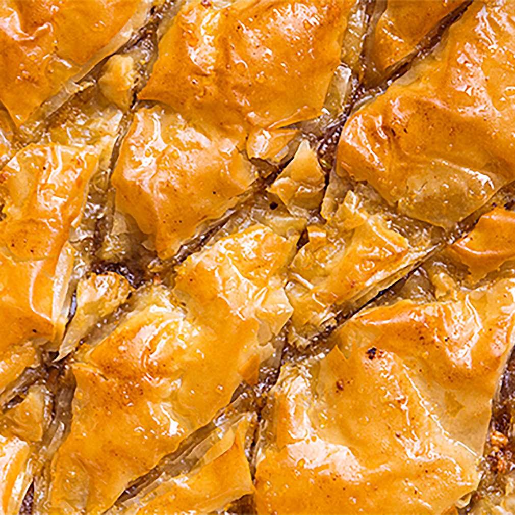Изобразяване на рецептата Баклава с локум