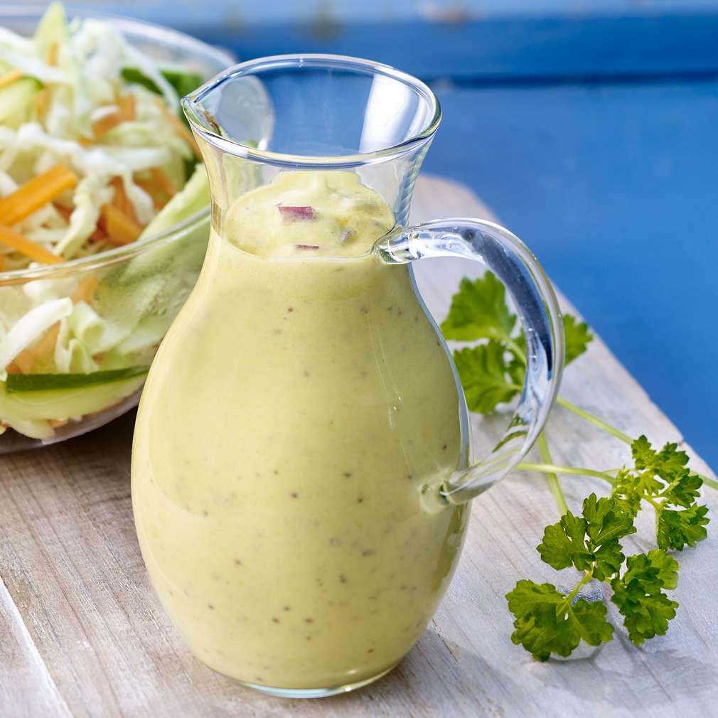 Abbildung des Rezepts Mango-Curry-Dressing