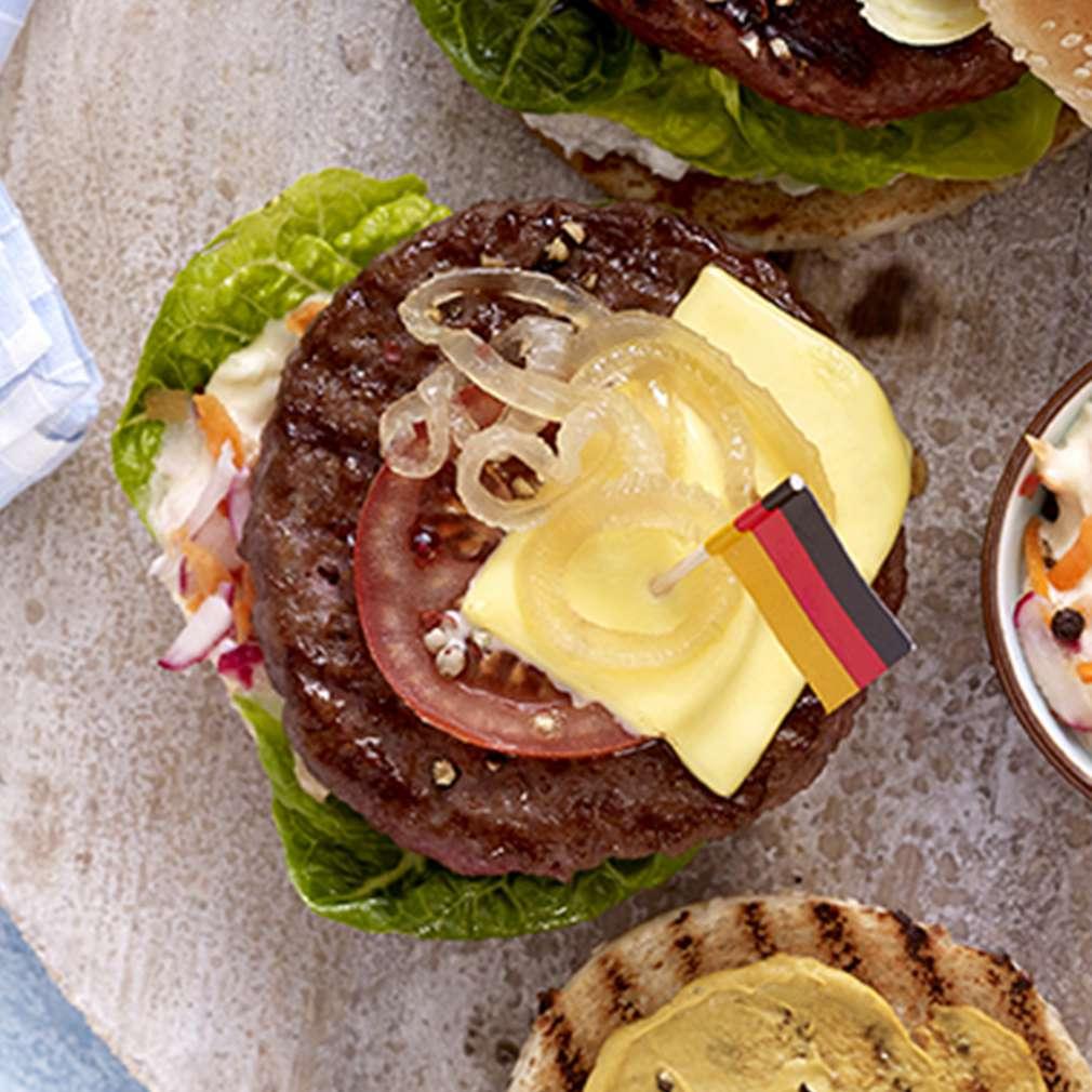 Abbildung des Rezepts Deutschland-Burger