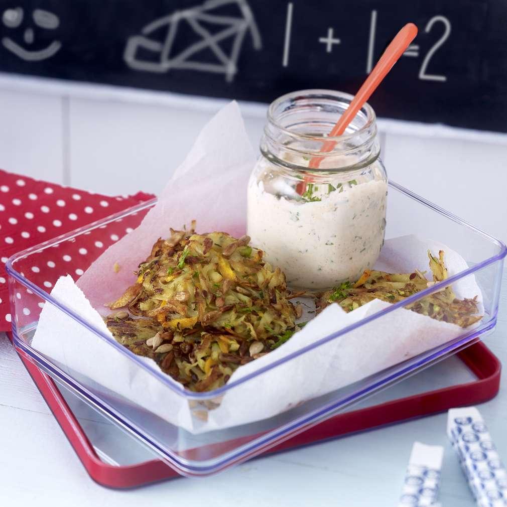 Imaginea rețetei Turtițe de legume cu brânză