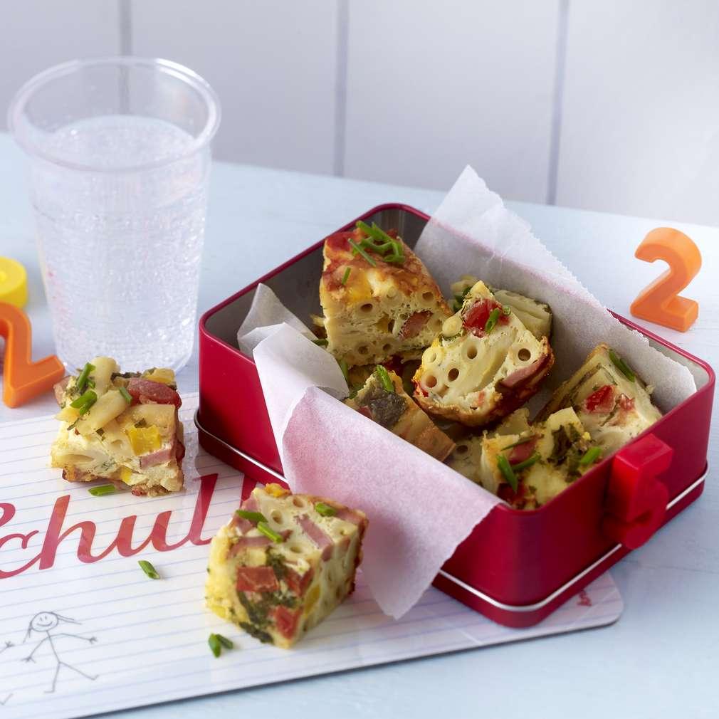 Изобразяване на рецептата Макарони със зеленчуци на фурна
