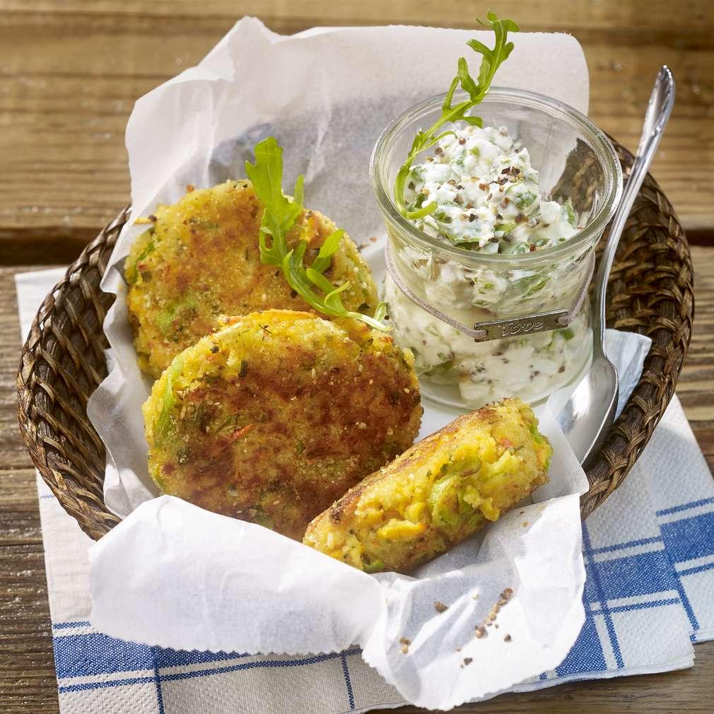 Fotografija recepta Pljeskavice od tikve i krumpira