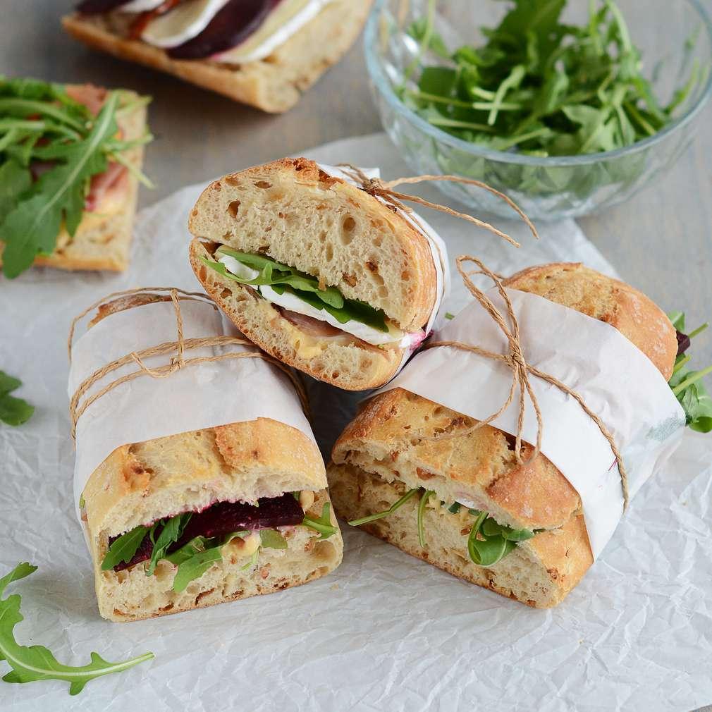 Zobrazenie receptu Piknikové sendviče na taliansky spôsob