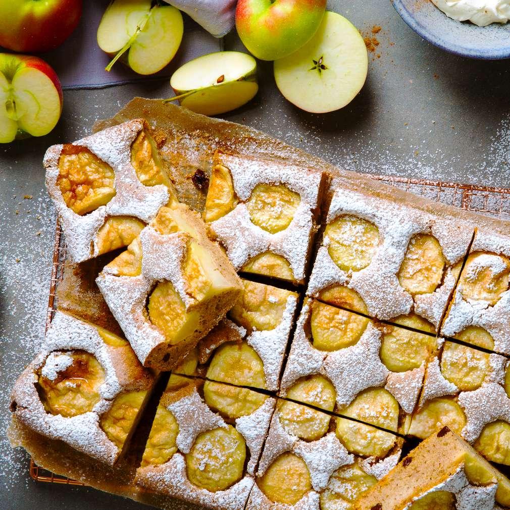 Abbildung des Rezepts Apfelkuchen vom Blech