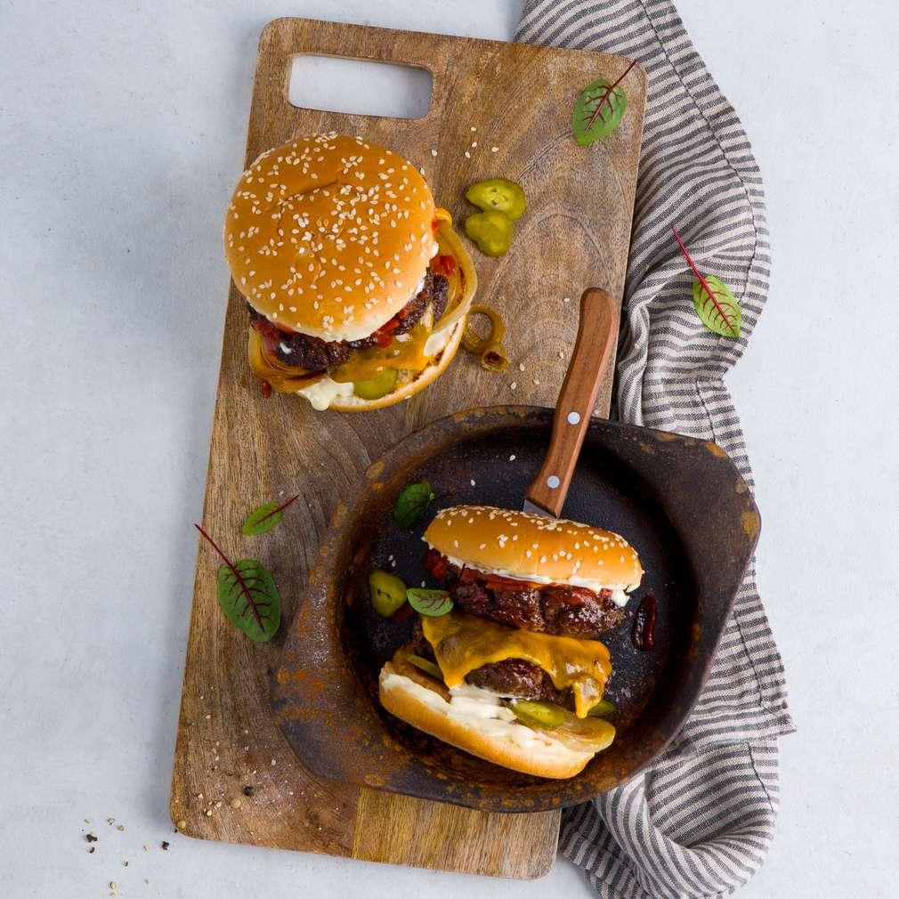 Abbildung des Rezepts Smashed Burger