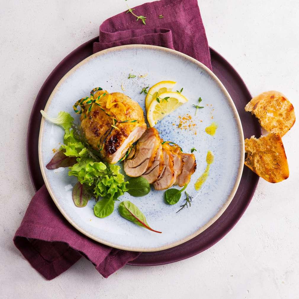 Zobrazit Grilované kuře na citronech receptů