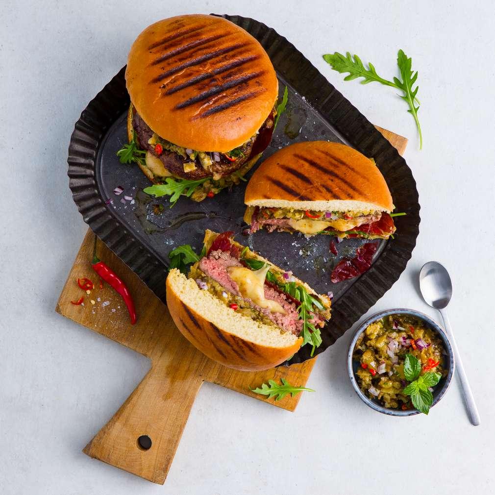 Abbildung des Rezepts Stuffed Burger