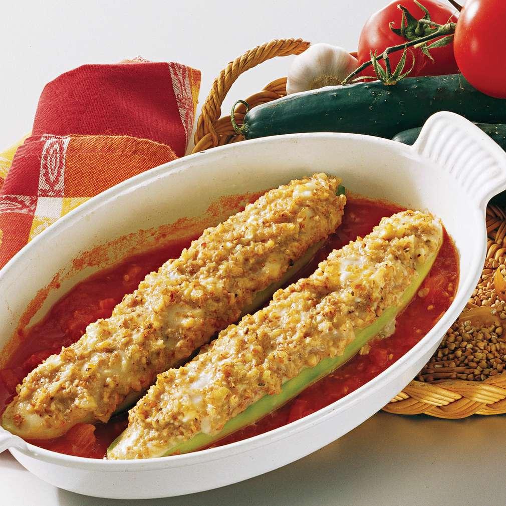 Imaginea rețetei Castraveți sub crustă de hrișcă