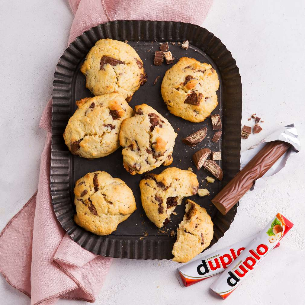 Abbildung des Rezepts Schoko-Cookies mit duplo®