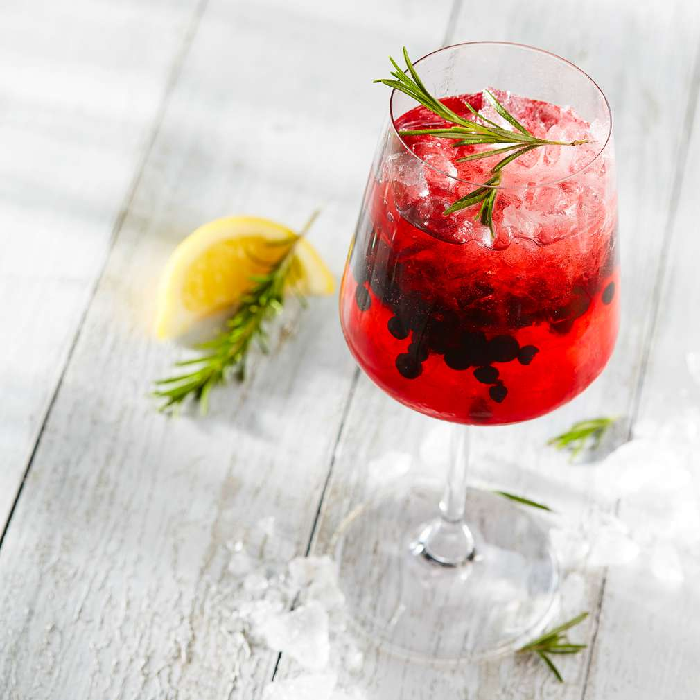 Abbildung des Rezepts Iced Blueberry-Lillet