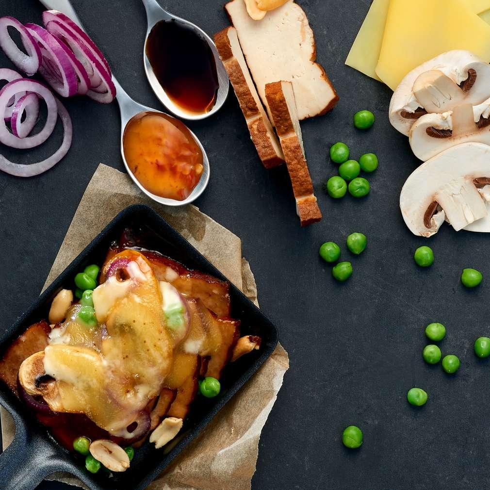 Abbildung des Rezepts Veggie-Tofu-Pfännchen
