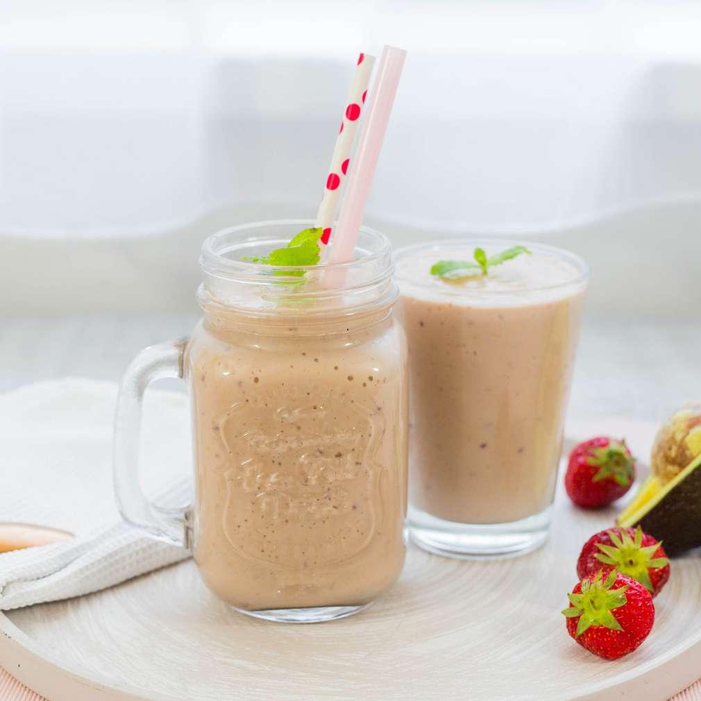 Zobrazenie receptu Jahodovo-avokádové smoothie