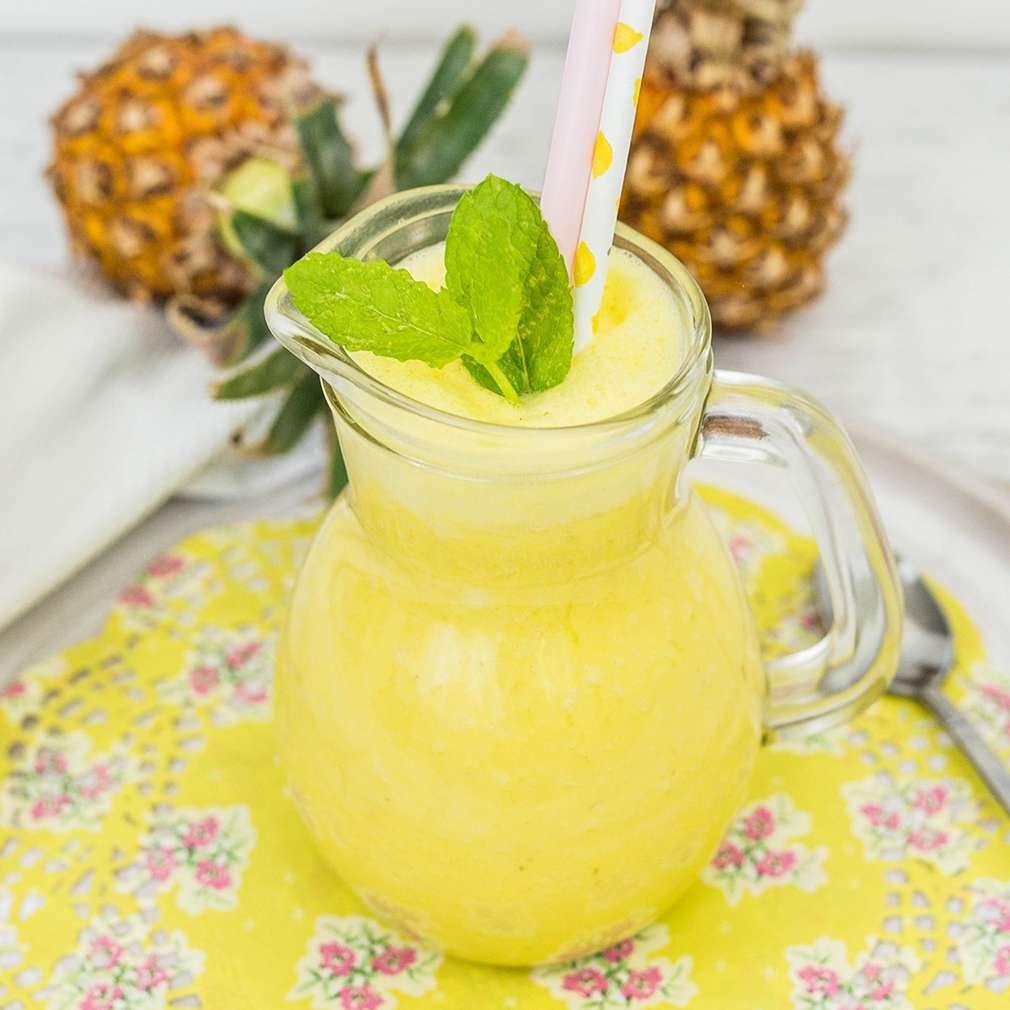 Zobrazenie receptu Mangovo-ananásové smoothie