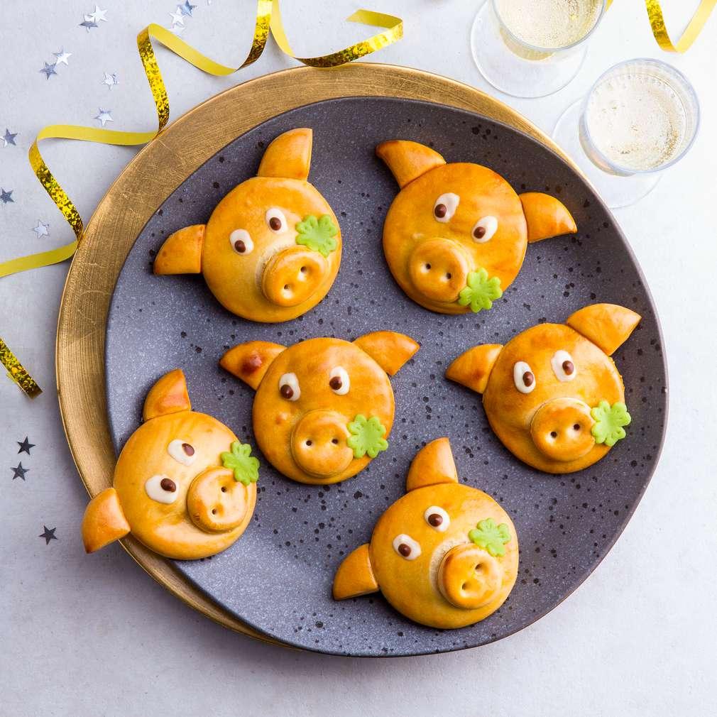 Abbildung des Rezepts Glücksschweinchen