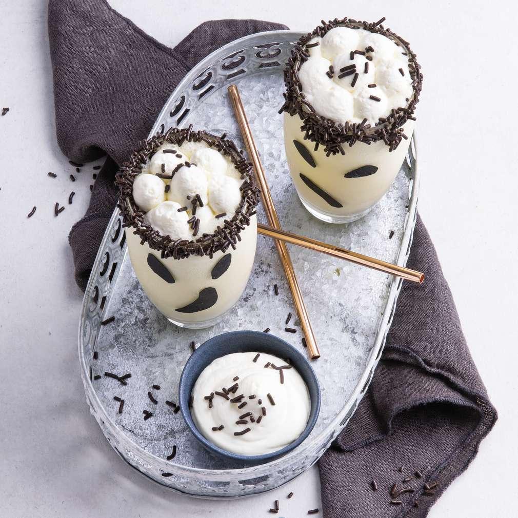 Abbildung des Rezepts Boohoo-Shake mit Schokoladengesicht