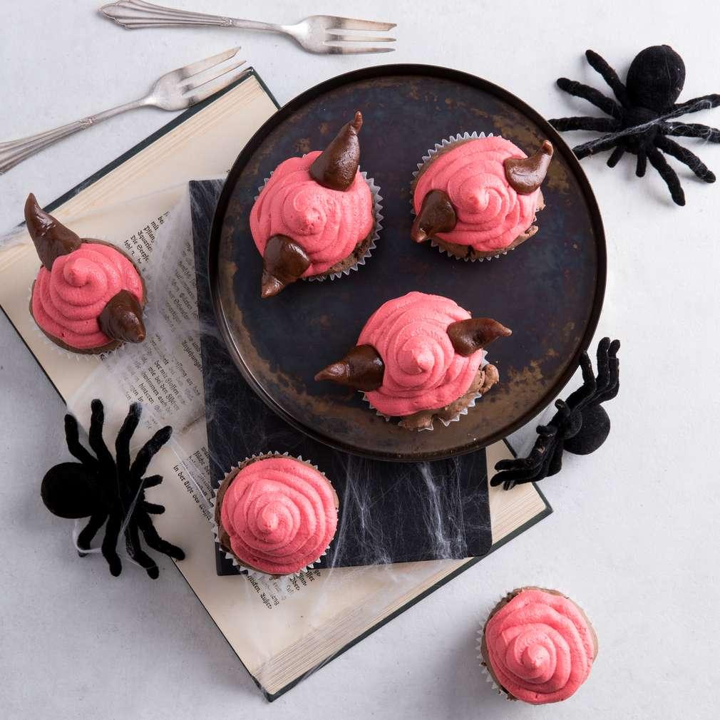 Abbildung des Rezepts Grusel Schokoladen-Cupcakes