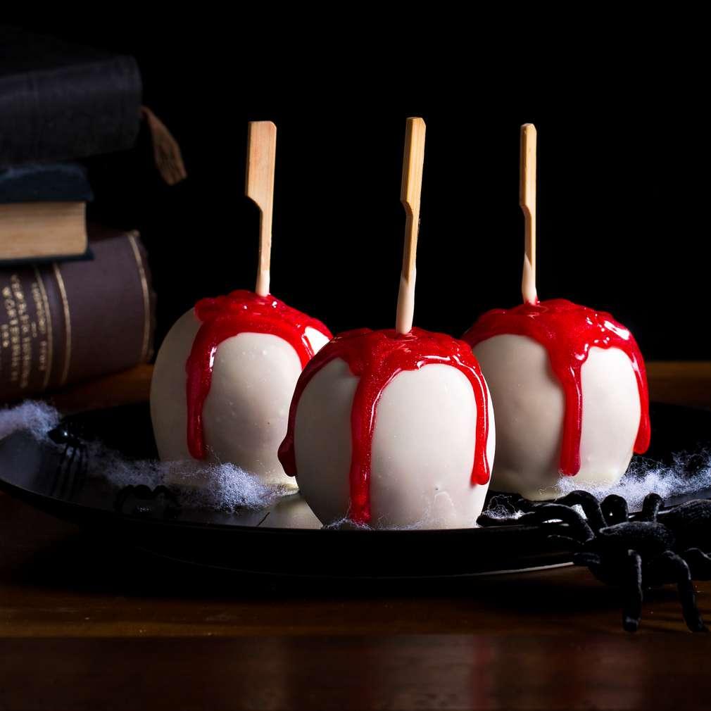 Изобразяване на рецептата Ябълките на злата вещица