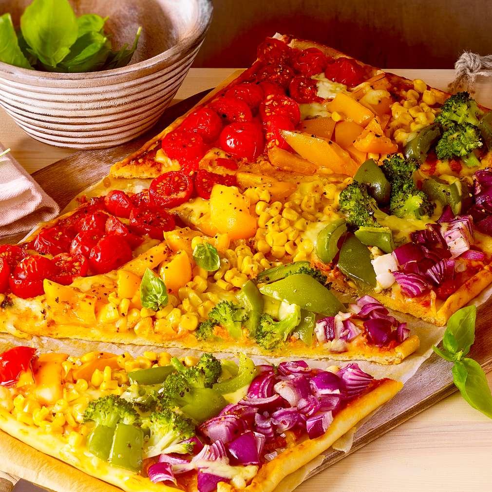 Abbildung des Rezepts Rainbowpizza