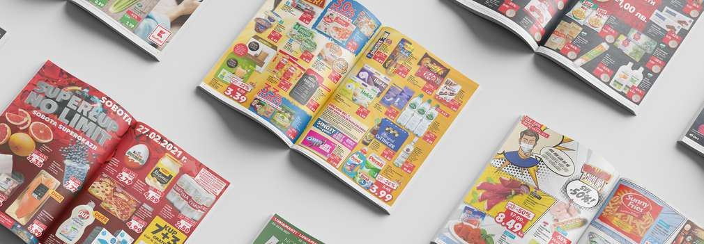 Kaufland leaflet with many offers