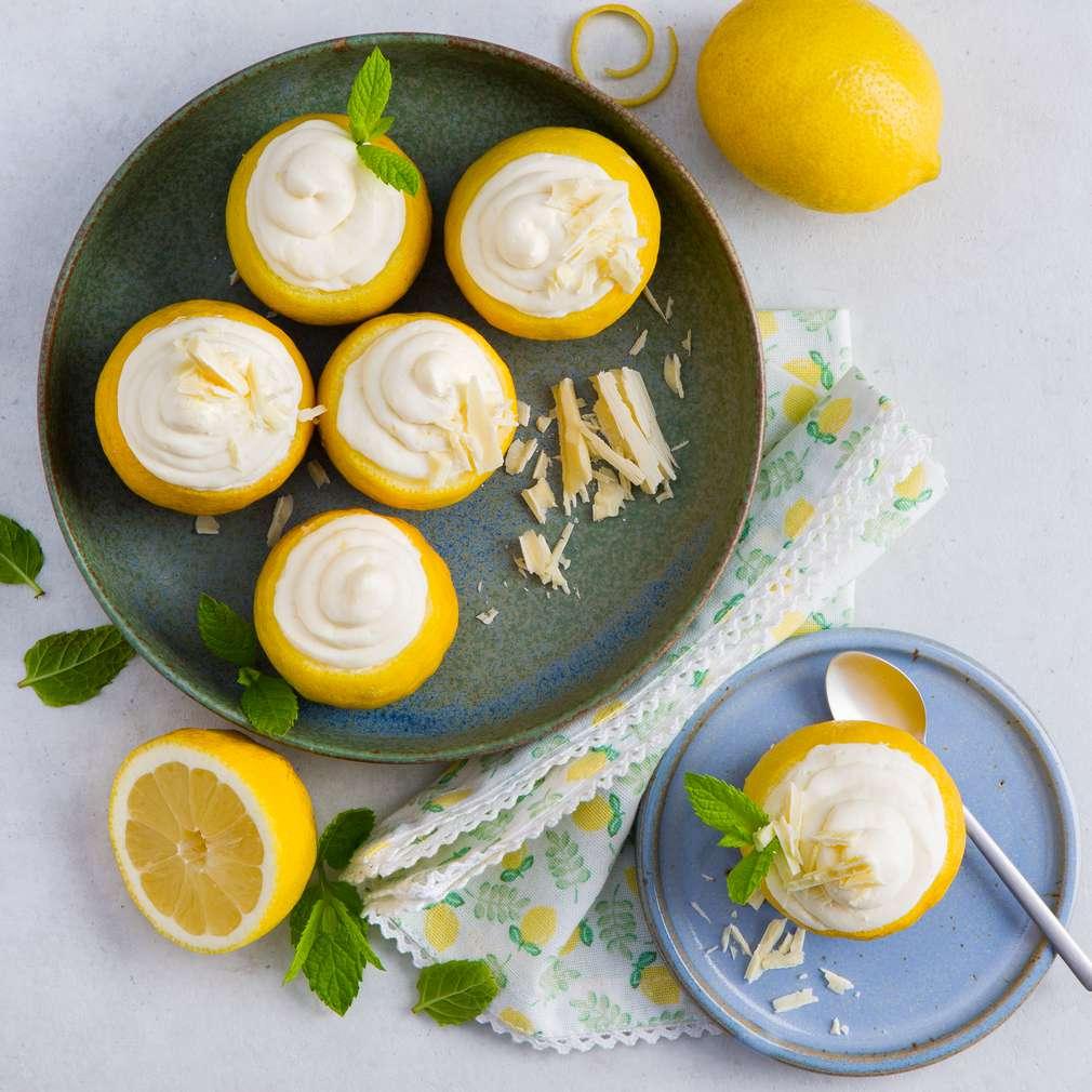 Abbildung des Rezepts Zitronenmousse