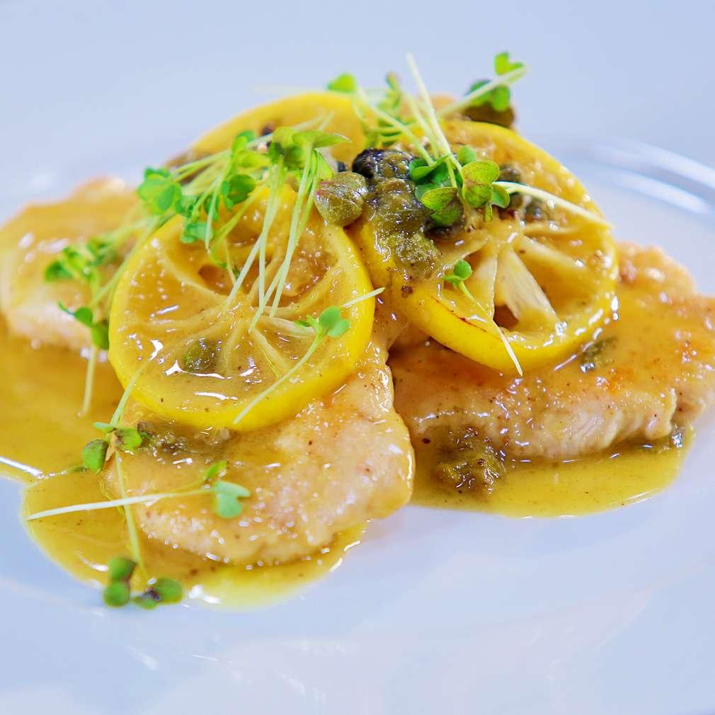 Zobrazit Krůtí prsa s citronovou omáčkou receptů