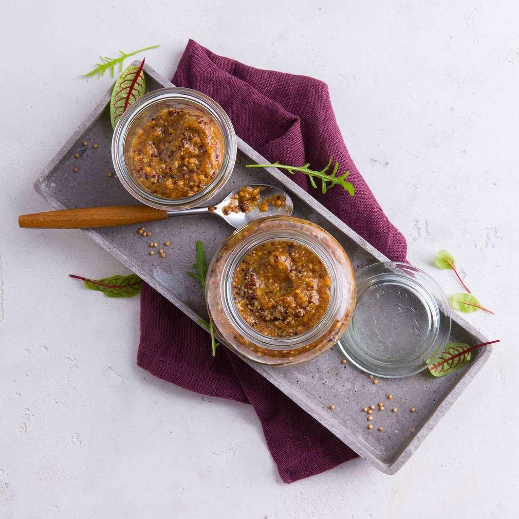 Abbildung des Rezepts Süßer Karamell-Senf