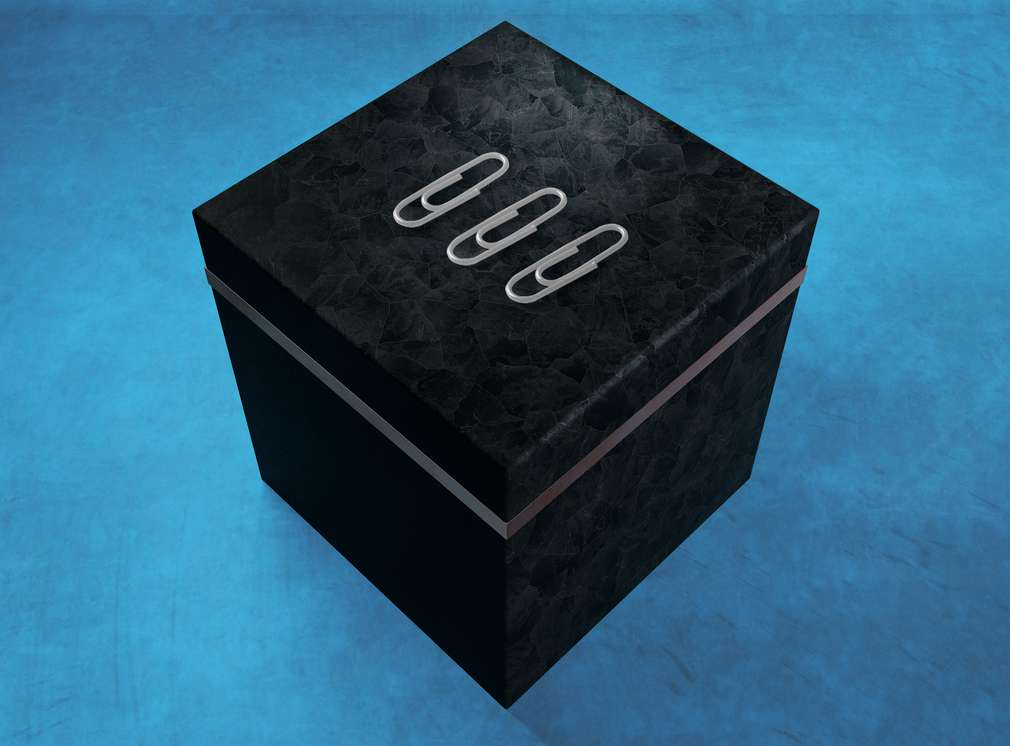 Sponky na krabici
