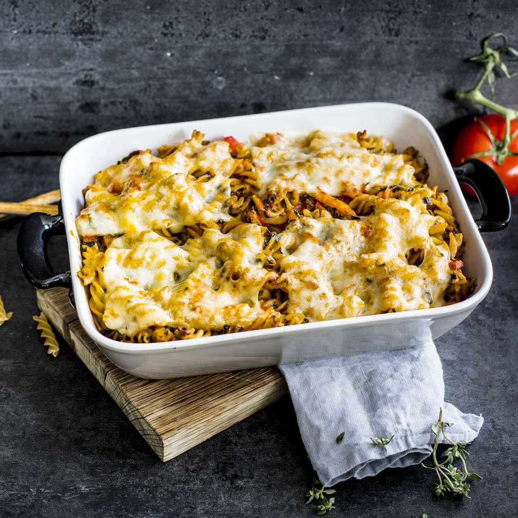Imaginea rețetei Paste cu legume și Emmentaler