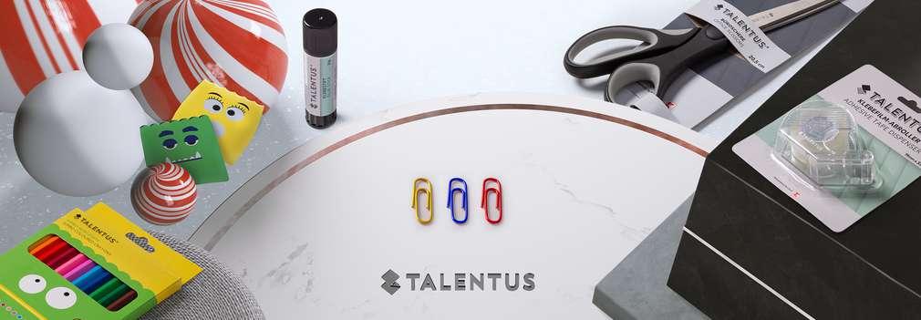Verschiedene Talentus® -Produkte aus den Bereichen Kids, Office und Kreative