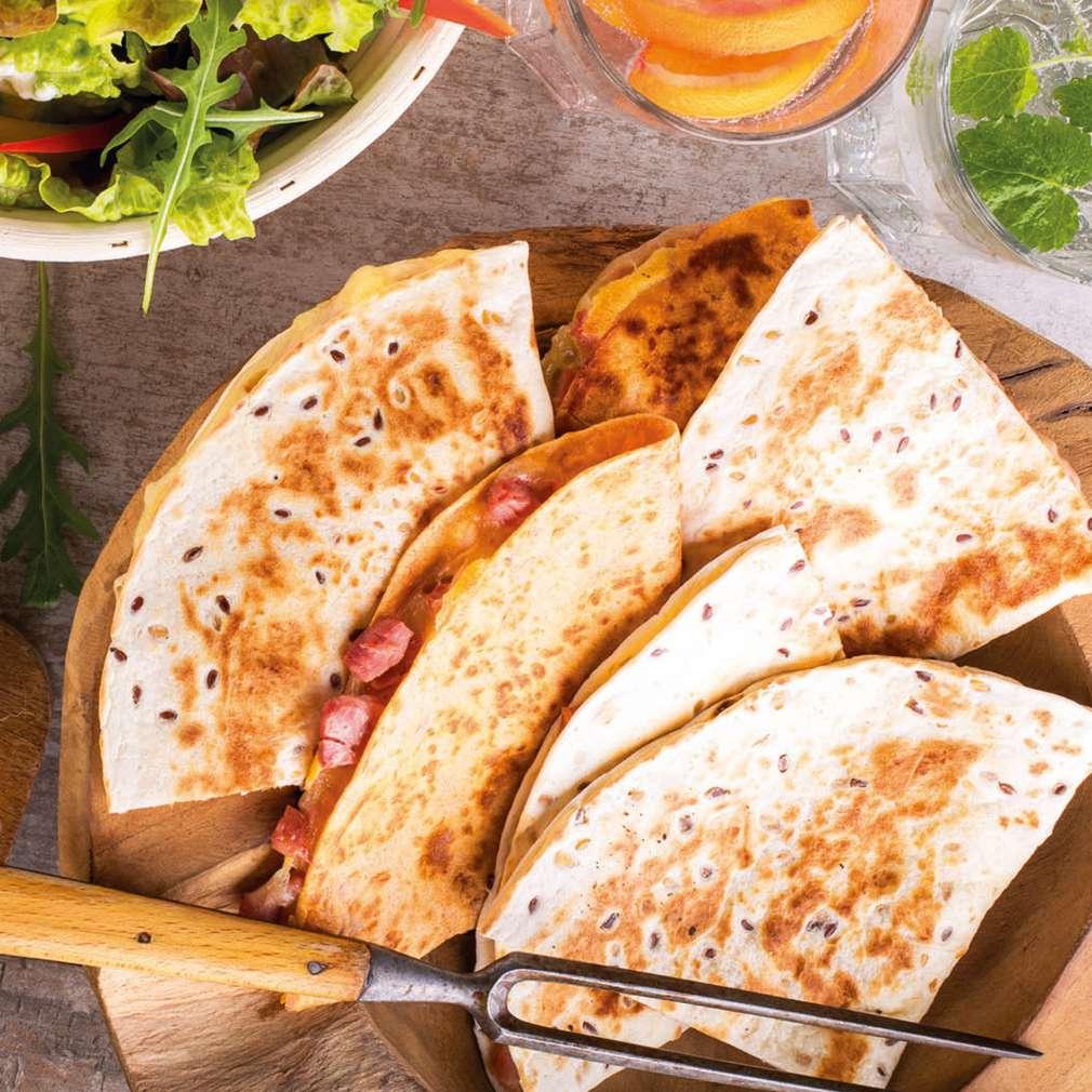 Zobrazit Zapečené tortilly receptů