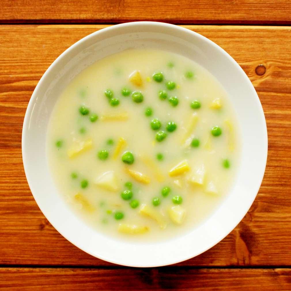 Zobrazit Lusková polévka s hráškem receptů
