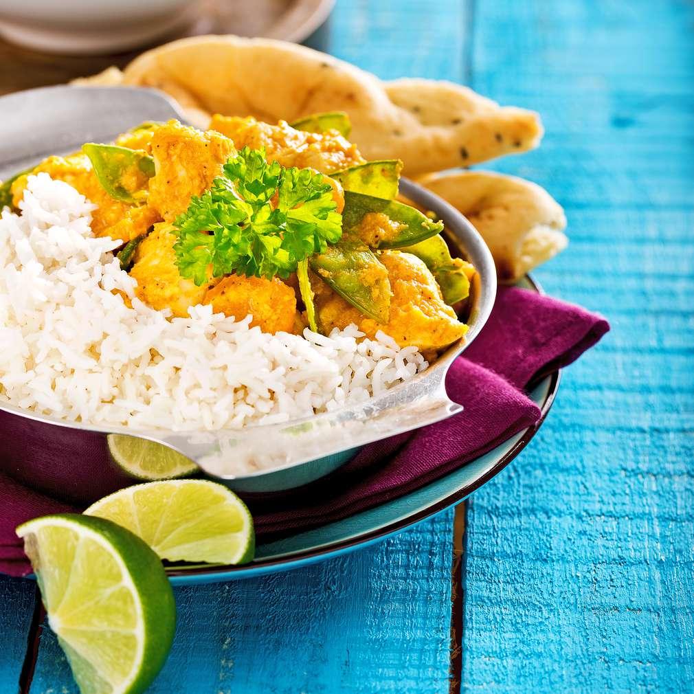 Imaginea rețetei Rețetă indiană de pui cu curry