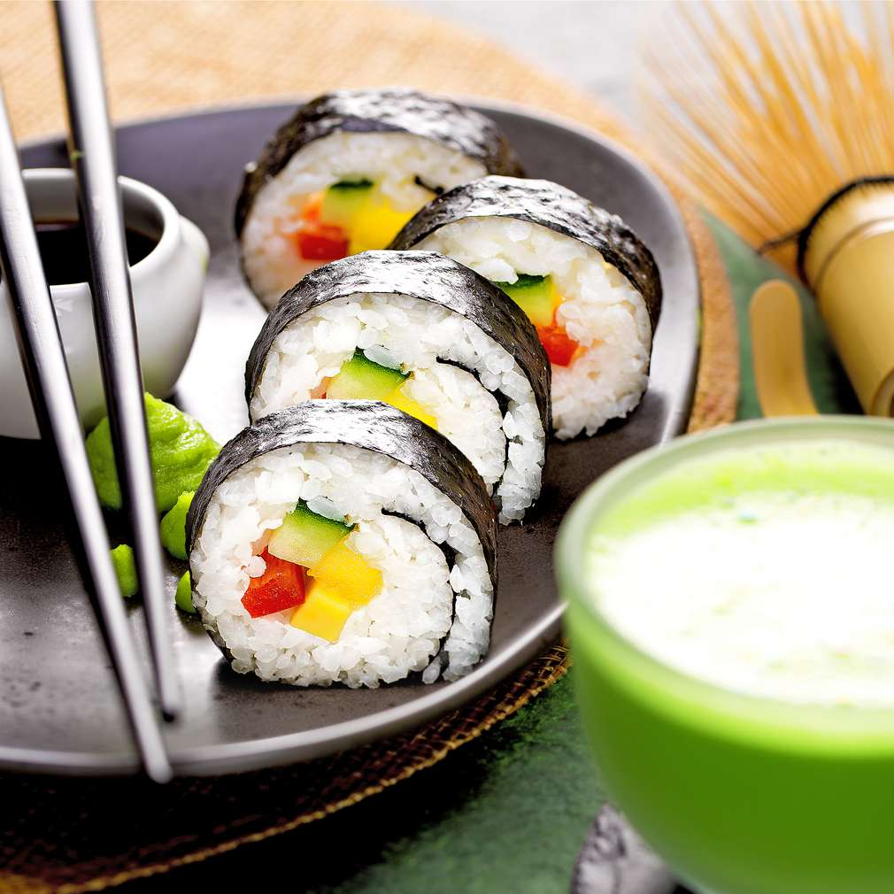 Изобразяване на рецептата Вегетарианско суши
