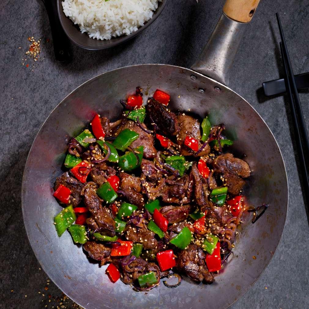 Zobrazenie receptu Ázijská pečeň