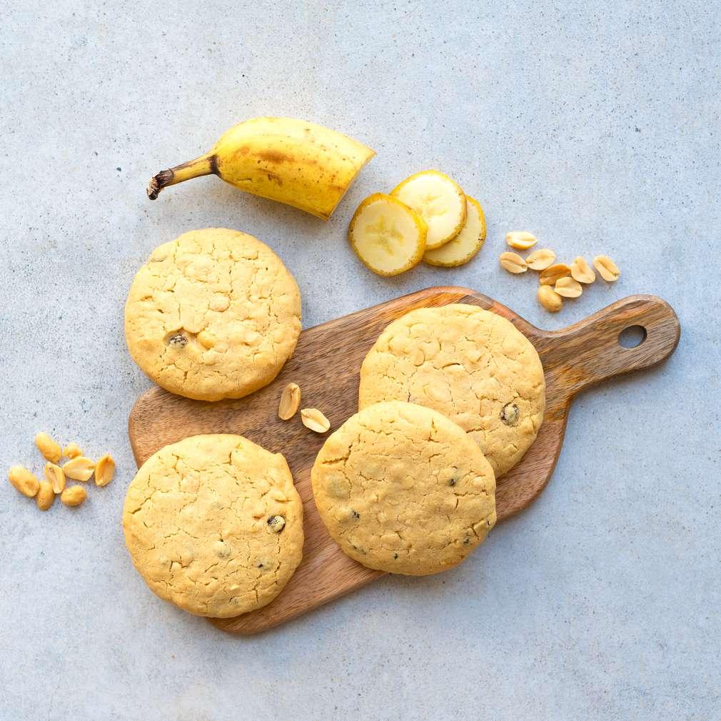 Zobrazit Banánovo-arašídové cookies receptů